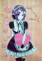 Valentine's Touka by sugachi