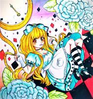 Alice in Wonderland by sugachi