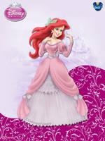 DisneyPrincess - Ariel2 ByGF by GFantasy92