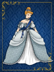 Queen Cinderella- Disney Queen designer collection by GFantasy92