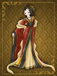 Queen Mulan- Disney Queen designer collection by GFantasy92