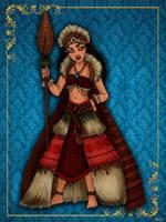 Queen Moana - Disney Queen designer collection by GFantasy92