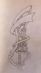 More Keyblade sketches! by WeapondesignerDawe