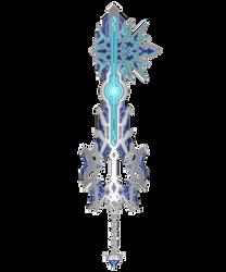 Keyblade [Mk.IV] -Chrome Eclipse/Blitz Chrome- by WeapondesignerDawe