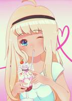 Ice cream by 0neehime