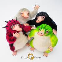 Cool Niffler Gang by FellKunst