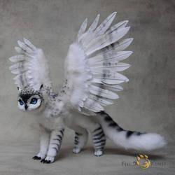 Poseable Art Doll, Owlgriffin by FellKunst
