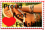 Foot Fetish Stamp by loqutor