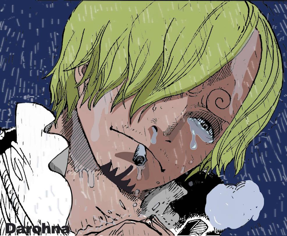 One Piece Sanji Crying Anime Top Wallpaper