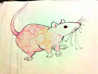 Tattoed Rat by DemodexPlush