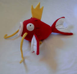 Magikarp Plush 2.0. by DemodexPlush