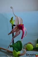 Bulbophyllum echinolabium Plush by DemodexPlush