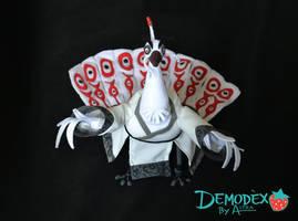 Lord Shen Plush by DemodexPlush