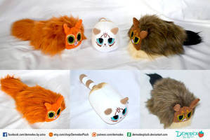 Beany Kitty Plush by DemodexPlush