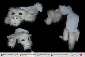 Falcor Scarf by DemodexPlush
