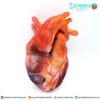 Heart Plush 2.0 by DemodexPlush