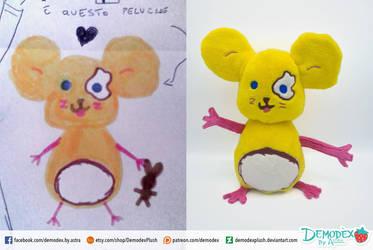 Child draw by DemodexPlush