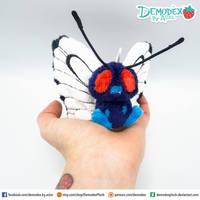 Butterfree plush by DemodexPlush