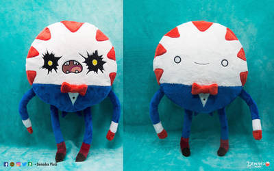 Peppermint Butler double-face Plush by DemodexPlush