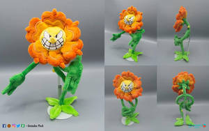 Cagney Carnation plush by DemodexPlush