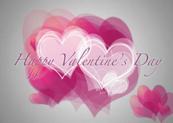 Valentine Hearts Card by AlanaLayce
