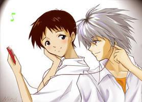 i-love shinji kaworu by verllina