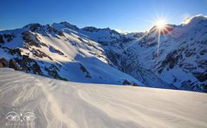 New Zealand Alpine Sunset by Bakisto