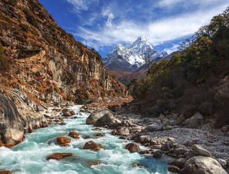 Ama Dablam - Nepal by Bakisto