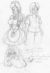 Random Sketches 2018 - 1 by bouncymischa