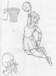Slam Dunk by bouncymischa