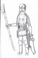 Random soldier by LassieTheRex