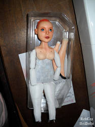 Agent Dana Scully ooak art doll wip by LilliamSlasher