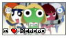I heart Keroro stamp by Fanboy-Goodies