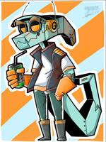 Robo-gator... by FizzyBoba