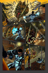 Independent Comic page Color by carloslima
