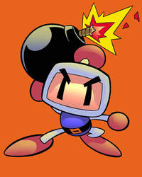 Bomberman  color study by carloslima