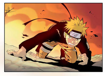 Naruto Color Study by carloslima