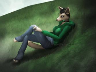 Grassy Hill by WingedZephyr