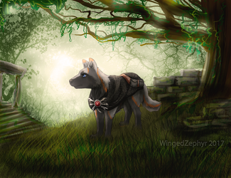 Echos In The Forest by WingedZephyr
