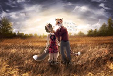 Shimmering Fields by WingedZephyr