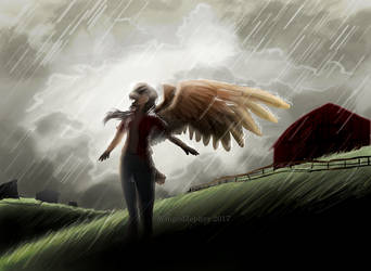 Summer Rain by WingedZephyr