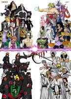 DBON: Villains by taresh