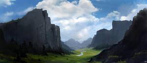 landscape by tnounsy