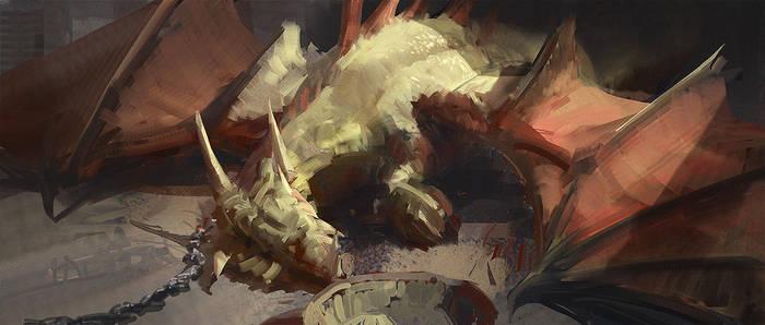 Pet dragon by tnounsy