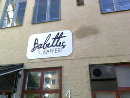 Babettes Kafferi, Linkoping, Sweden by lennarrrt
