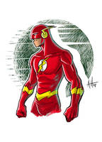 the superspeed-dude by deralbi