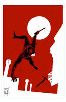 Daredevil Fanart by deralbi