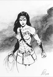 Wonder Woman by deralbi