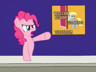 Leave the Fandom Meme(Description) by ProSonicIncorporated