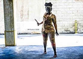 Silent Hill Nurse Cosplay (Photoshoot) by danidarkan